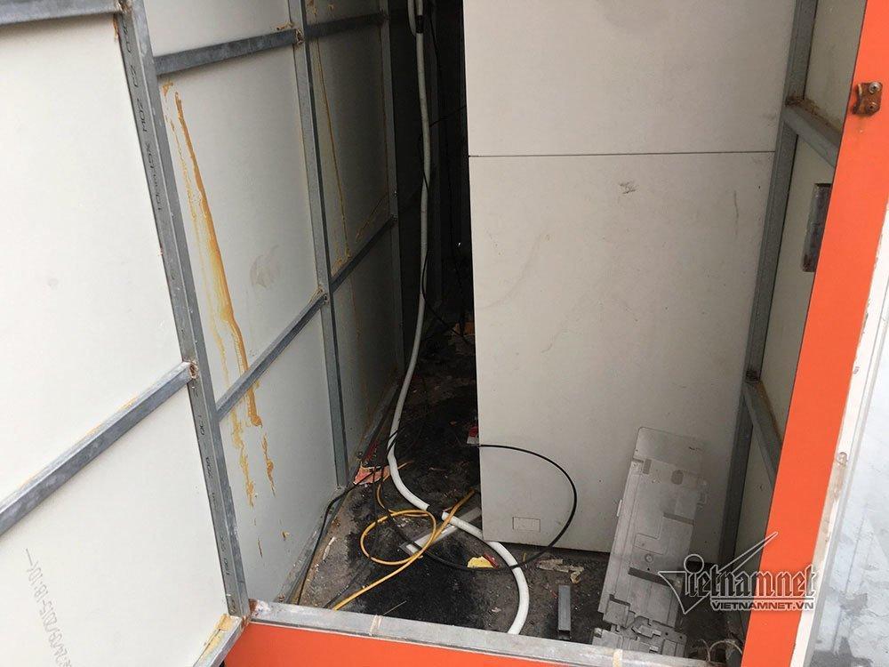 Quảng Ninh thông tin vụ ATM cạnh chung cư bị gài mìn-1