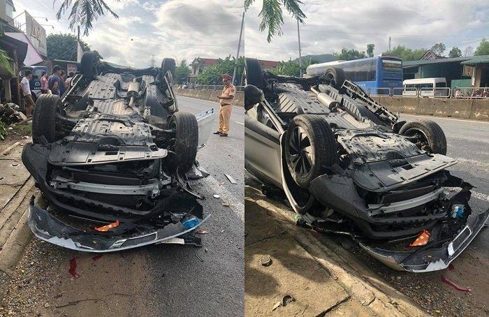 Phó giám đốc Sở TN&MT Đà Nẵng đâm xe lật ngửa, vợ tử vong-2