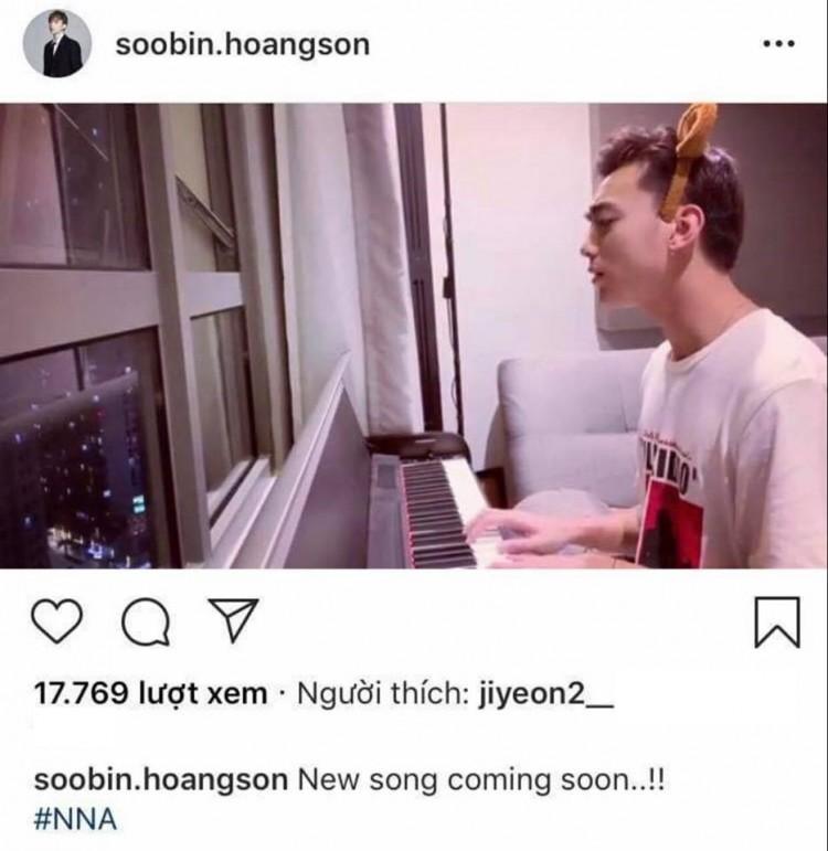 Khoảnh khắc dễ thương: Soobin cứ việc nhá hàng bài mới, còn bấm like để Jiyeon (T-ara) lo!-1