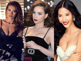 1001 lý do vòng 1 trồi sụt, lên xuống thất thường của các người đẹp Việt