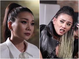 Ức phát khóc khi học trò bị loại, Võ Hoàng Yến đập bàn cãi tay đôi với Thanh Hằng tại The Face 2018