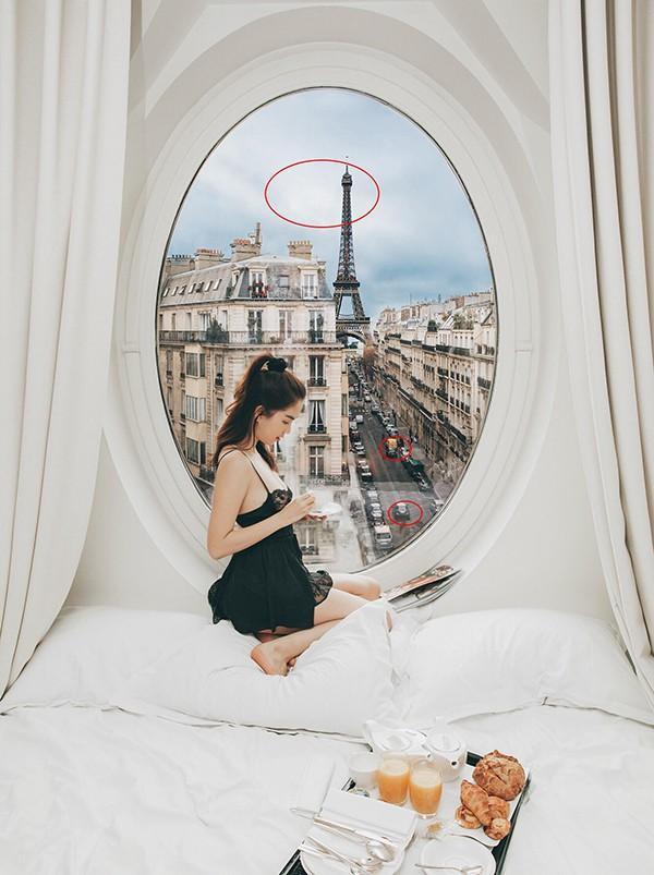 Bị mỉa mai chỉ vì sống ảo mà cả nước Pháp phải ngủ yên, Ngọc Trinh thách: Cứ qua Paris chụp rồi biết-3
