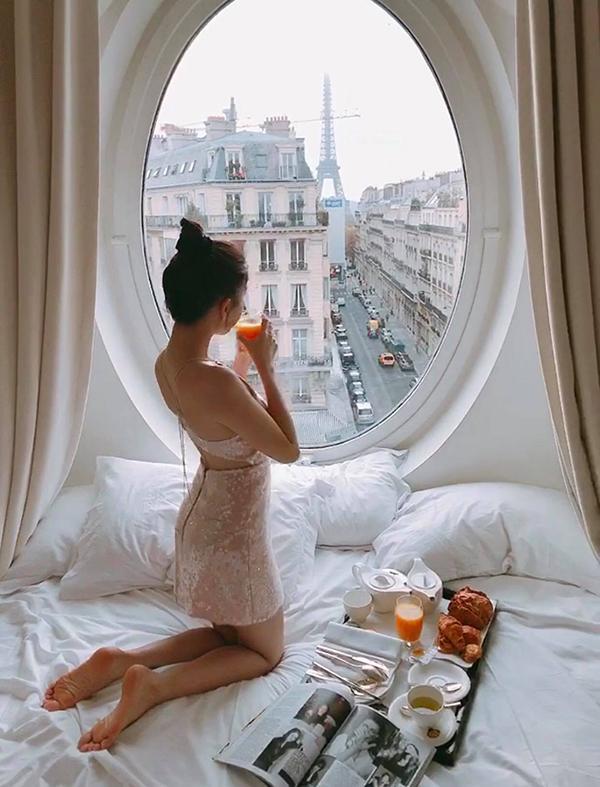 Bị mỉa mai chỉ vì sống ảo mà cả nước Pháp phải ngủ yên, Ngọc Trinh thách: Cứ qua Paris chụp rồi biết-5