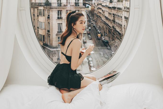 Bị mỉa mai chỉ vì sống ảo mà cả nước Pháp phải ngủ yên, Ngọc Trinh thách: Cứ qua Paris chụp rồi biết-4