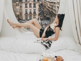 Bị mỉa mai chỉ vì sống ảo mà 'cả nước Pháp phải ngủ yên', Ngọc Trinh thách: 'Cứ qua Paris chụp rồi biết'