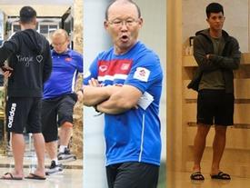 Hết Bùi Tiến Dũng lại Đình Trọng bị HLV Park Hang Seo phạt 'cả chì lẫn chài' chỉ vì ăn mặc xuề xòa ra ngoài