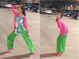 Diệu Nhi trổ tài pose dáng chủ đề 'cô đơn xứ lạ' mà bị bạn vào bình luận 'nhìn như gái ngành'