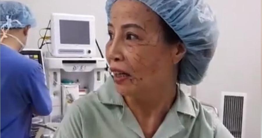 Bị chê trâu già gặm cỏ non, cô dâu 61 tuổi hút mỡ bụng, cấy mỡ mắt để xứng đôi với chồng trẻ 26-5