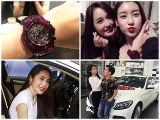 Đâu chỉ có Mai Phương Thúy tặng quà sinh nhật tiền tỷ cho Đỗ Mỹ Linh, nhiều sao Việt chịu chơi không kém khi khoe hàng tặng giá 'khủng'