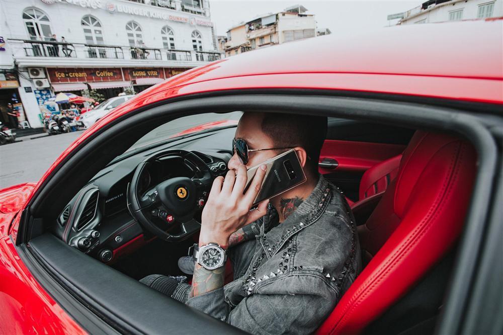 Ngựa chiến Ferrari 16 tỷ đồng của Tuấn Hưng bị nghi tai nạn thảm khốc trên quốc lộ Việt Trì - Phú Thọ-6
