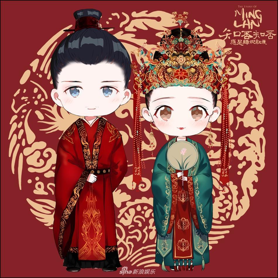 Minh Lan truyện tung ảnh cưới của Triệu Lệ Dĩnh và Phùng Thiệu Phong-3