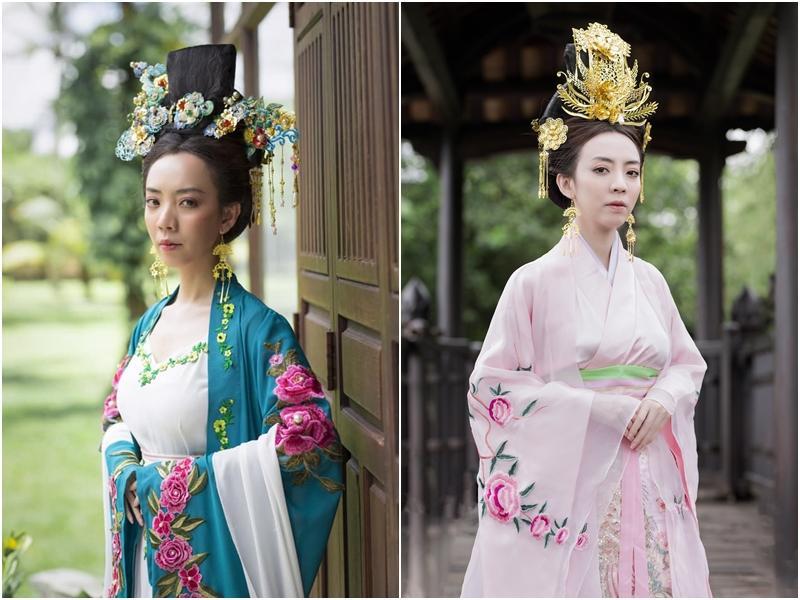 Mãn nhãn với tạo hình cổ trang trong 4 web drama cực hot của Thu Trang, Huỳnh Lập, Nam Thư-2