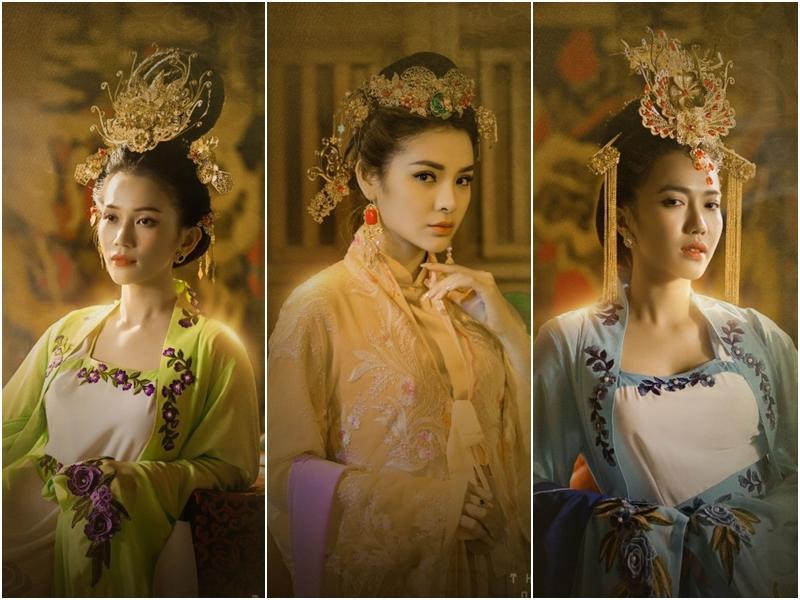 Mãn nhãn với tạo hình cổ trang trong 4 web drama cực hot của Thu Trang, Huỳnh Lập, Nam Thư-4