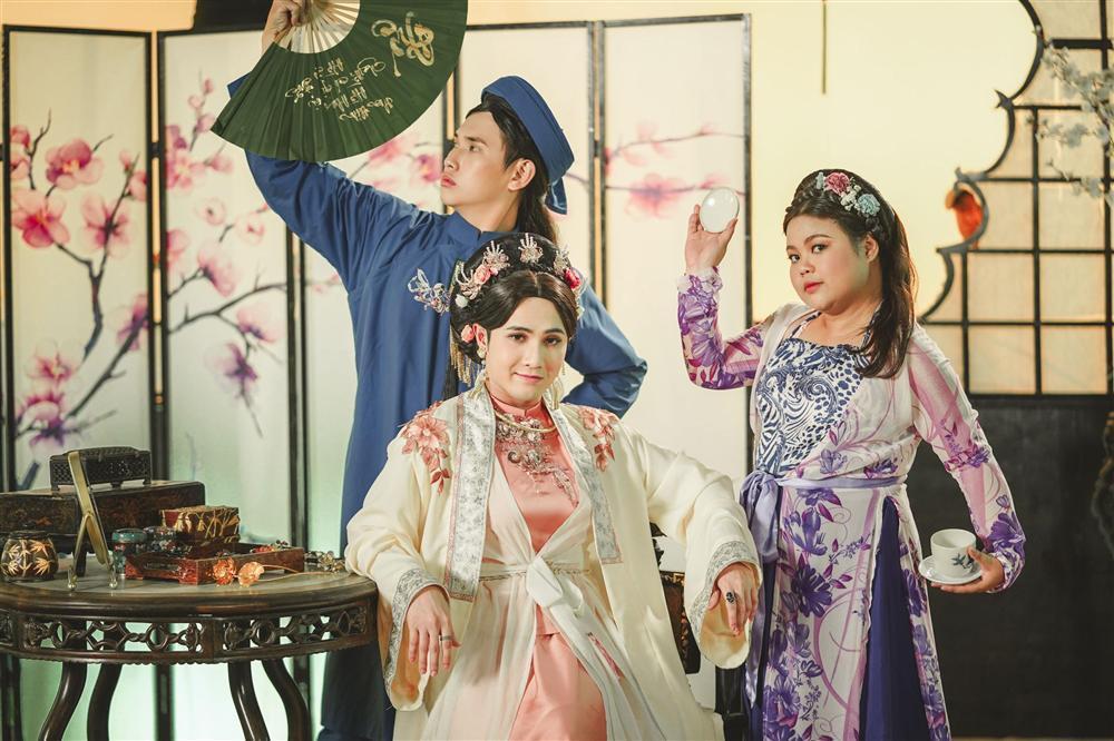 Mãn nhãn với tạo hình cổ trang trong 4 web drama cực hot của Thu Trang, Huỳnh Lập, Nam Thư-6