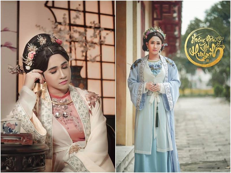 Mãn nhãn với tạo hình cổ trang trong 4 web drama cực hot của Thu Trang, Huỳnh Lập, Nam Thư-7