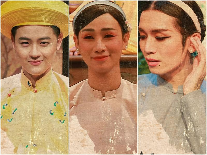 Mãn nhãn với tạo hình cổ trang trong 4 web drama cực hot của Thu Trang, Huỳnh Lập, Nam Thư-9