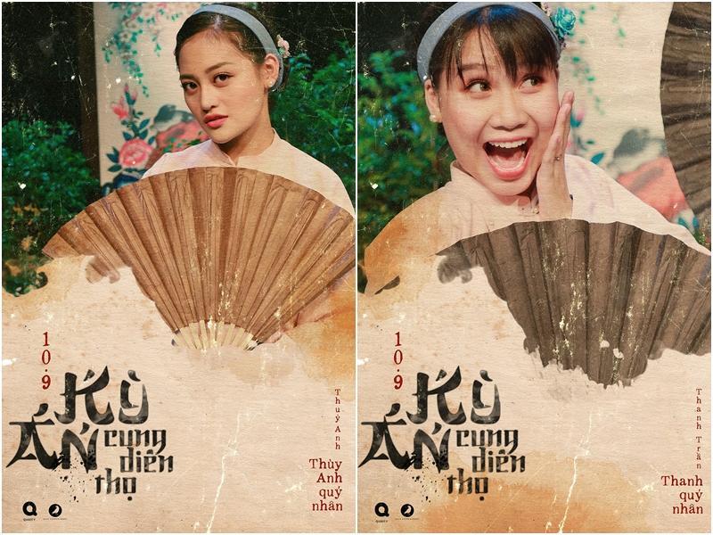 Mãn nhãn với tạo hình cổ trang trong 4 web drama cực hot của Thu Trang, Huỳnh Lập, Nam Thư-12