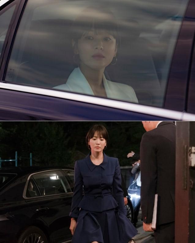 Nhà đài hé lộ tạo hình xinh đẹp nhưng đầy u buồn của Song Hye Kyo trong phim mới-1