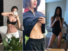 Elly Trần, Sĩ Thanh, Yaya Trương Nhi khoe cơ bụng và vòng eo trắng nuột bất chấp gió mùa