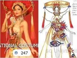 Rò rỉ hình ảnh quốc phục đẹp nghẹn lời của H'Hen Niê tại Miss Universe 2018