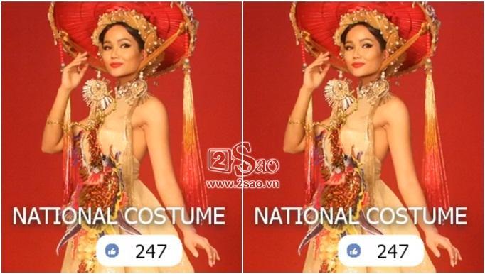 Rò rỉ hình ảnh quốc phục đẹp nghẹn lời của HHen Niê tại Miss Universe 2018-1
