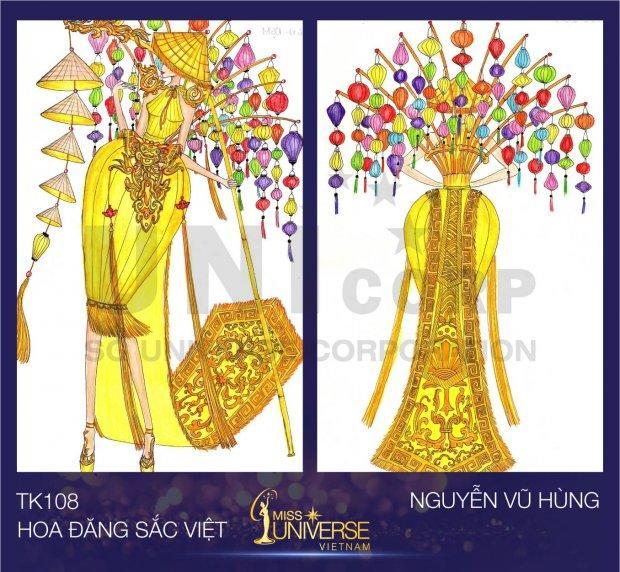 Rò rỉ hình ảnh quốc phục đẹp nghẹn lời của HHen Niê tại Miss Universe 2018-7