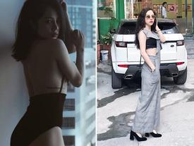 Thân hình nóng bỏng và vòng eo con kiến của 'mẹ đơn thân' đẹp nhất nhì VTV