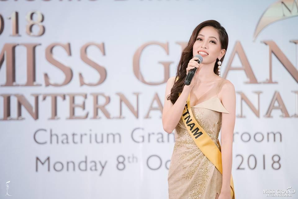 CHỌN BẠN MÀ CHƠI như Á hậu Bùi Phương Nga: Kết giao toàn nhan sắc nặng ký tại Miss Grand 2018-1