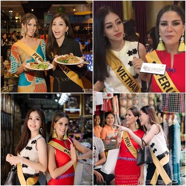 CHỌN BẠN MÀ CHƠI như Á hậu Bùi Phương Nga: Kết giao toàn nhan sắc nặng ký tại Miss Grand 2018-3