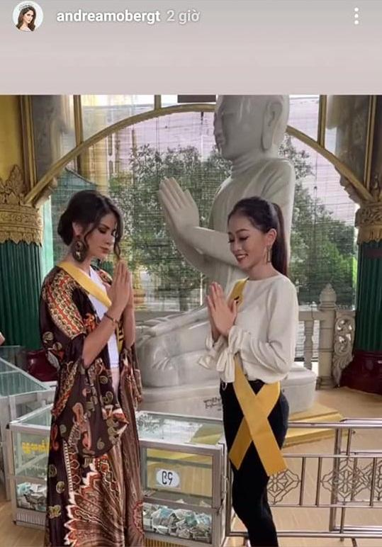 CHỌN BẠN MÀ CHƠI như Á hậu Bùi Phương Nga: Kết giao toàn nhan sắc nặng ký tại Miss Grand 2018-2