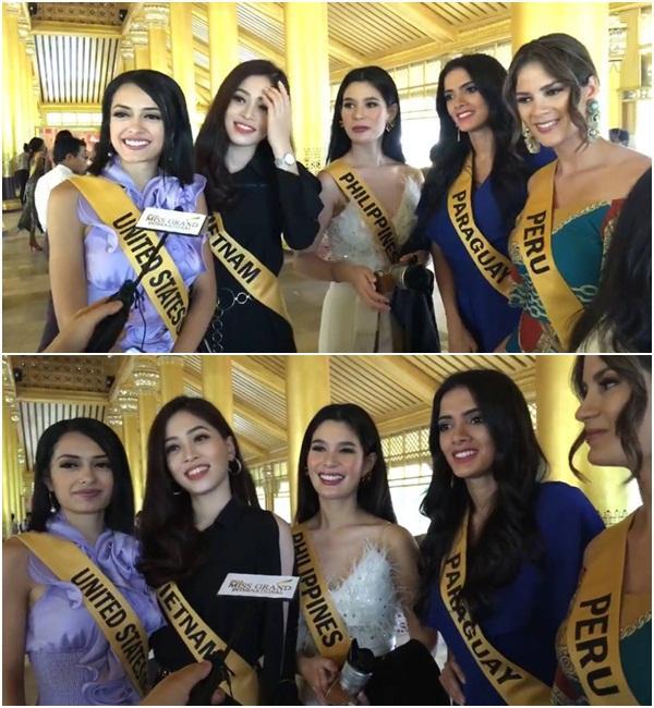 CHỌN BẠN MÀ CHƠI như Á hậu Bùi Phương Nga: Kết giao toàn nhan sắc nặng ký tại Miss Grand 2018-4