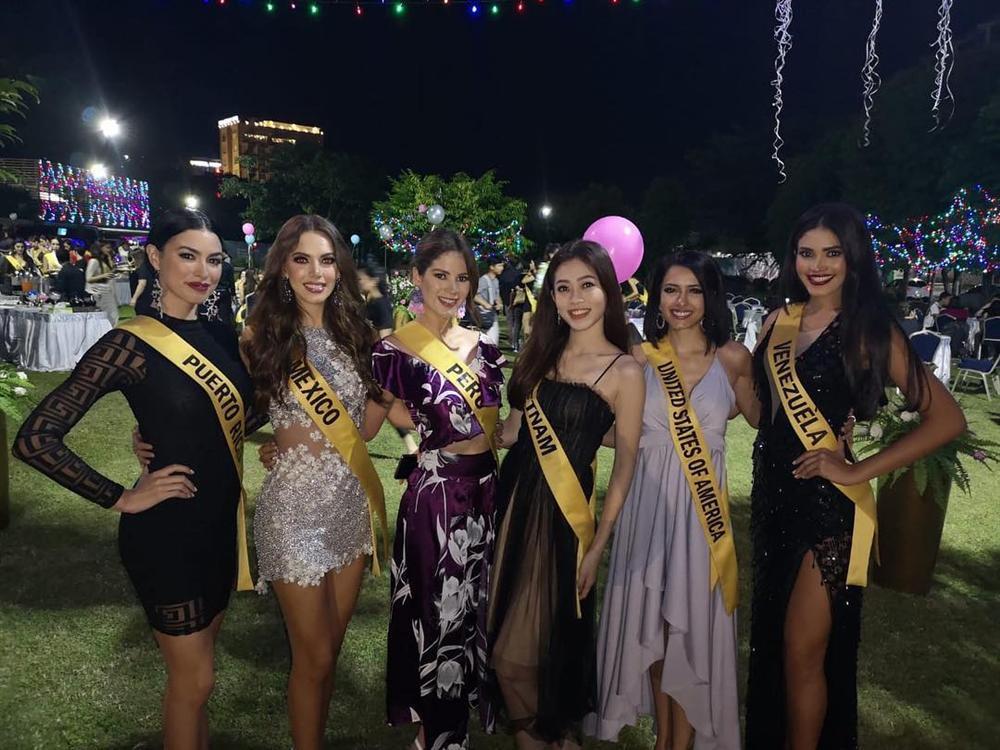 CHỌN BẠN MÀ CHƠI như Á hậu Bùi Phương Nga: Kết giao toàn nhan sắc nặng ký tại Miss Grand 2018-8