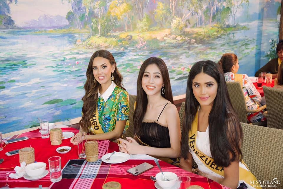 CHỌN BẠN MÀ CHƠI như Á hậu Bùi Phương Nga: Kết giao toàn nhan sắc nặng ký tại Miss Grand 2018-9