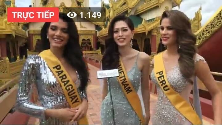 CHỌN BẠN MÀ CHƠI như Á hậu Bùi Phương Nga: Kết giao toàn nhan sắc nặng ký tại Miss Grand 2018-5