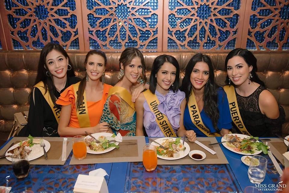CHỌN BẠN MÀ CHƠI như Á hậu Bùi Phương Nga: Kết giao toàn nhan sắc nặng ký tại Miss Grand 2018-11