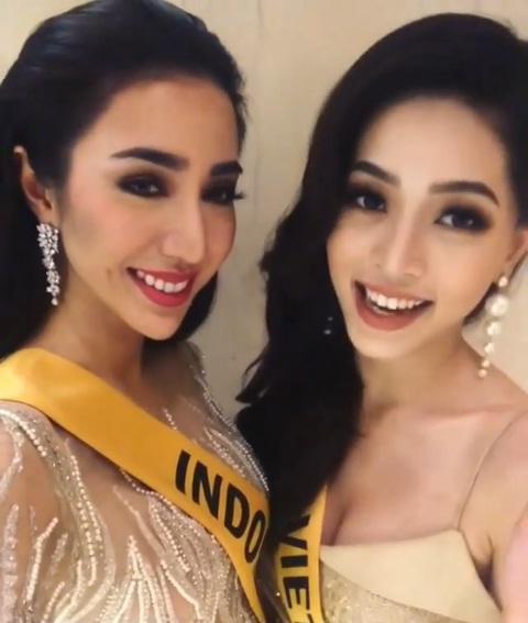 CHỌN BẠN MÀ CHƠI như Á hậu Bùi Phương Nga: Kết giao toàn nhan sắc nặng ký tại Miss Grand 2018-16