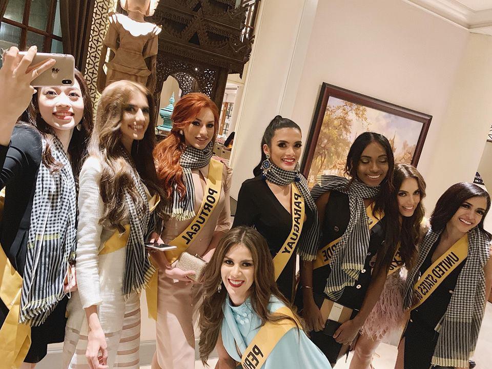 CHỌN BẠN MÀ CHƠI như Á hậu Bùi Phương Nga: Kết giao toàn nhan sắc nặng ký tại Miss Grand 2018-15