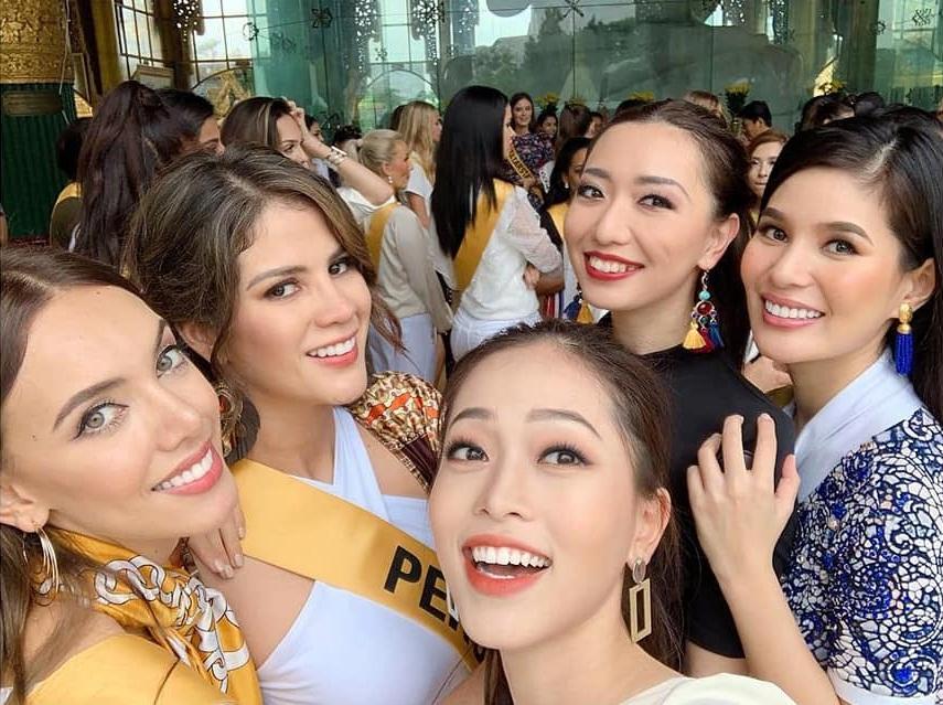 CHỌN BẠN MÀ CHƠI như Á hậu Bùi Phương Nga: Kết giao toàn nhan sắc nặng ký tại Miss Grand 2018-14