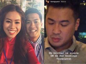 Khẳng định Phillip Nguyễn vẫn độc thân, em chồng Hà Tăng gây xôn xao khi đăng tin 'tuyển vợ' hộ anh trai
