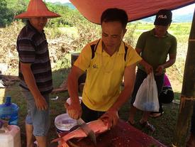 'Pa pỉnh tộp' - món ăn đốn tim du khách của người Thái Sơn La
