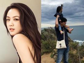 Mỹ nhân 'Sắc Giới' Thang Duy lần đầu chia sẻ ảnh con gái sau 4 năm kết hôn