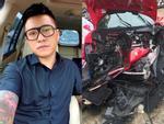 Tuấn Hưng gửi lời cảm ơn sau sự cố 'ngựa chiến' Ferrari nát đầu vì tai nạn giao thông