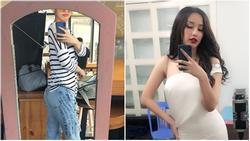Hoa hậu Mai Phương Thúy xác nhận tăng cân chóng mặt, vòng 3 'trổ hoa' chạm ngưỡng 70kg