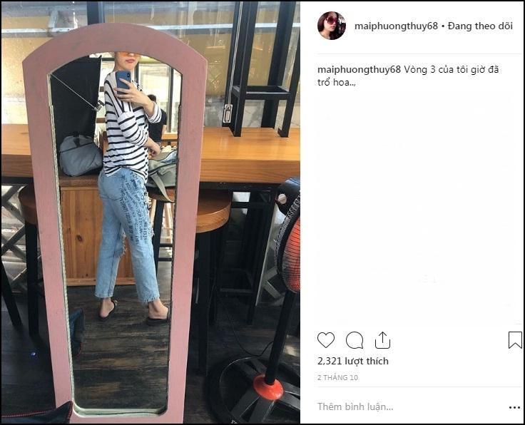 Hoa hậu Mai Phương Thúy xác nhận tăng cân chóng mặt, vòng 3 trổ hoa chạm ngưỡng 70kg-4