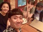 Trấn Thành hẹn hò ăn uống cùng gia đình bà xã Hari Won