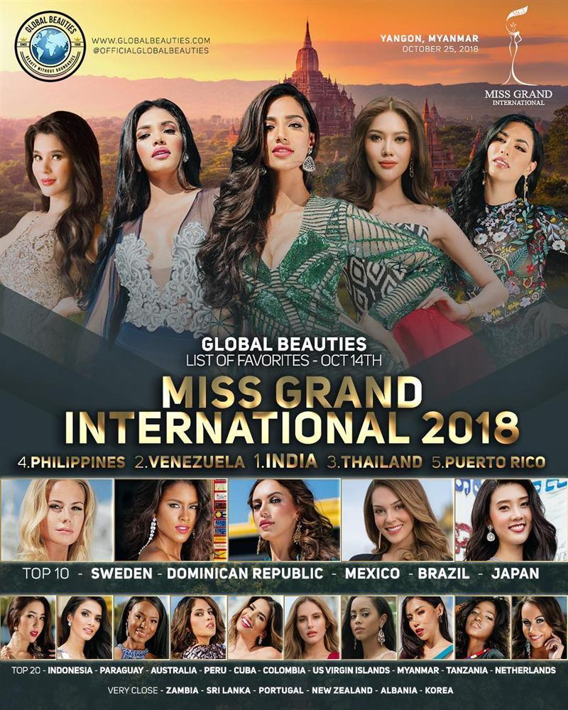 Cô gái được đồn đoán đoạt vương miện Miss Grand International 2018 có dung mạo đẹp tựa tiên nữ giáng trần-14