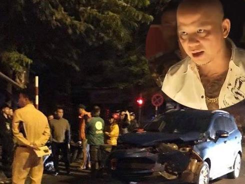 Xe của Anh Tuấn 'Người phán xử' nát đầu vì bị xe Dương Hồng Sơn đâm