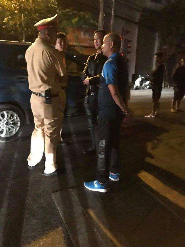 Xe của Anh Tuấn Người phán xử nát đầu vì bị xe Dương Hồng Sơn đâm-2