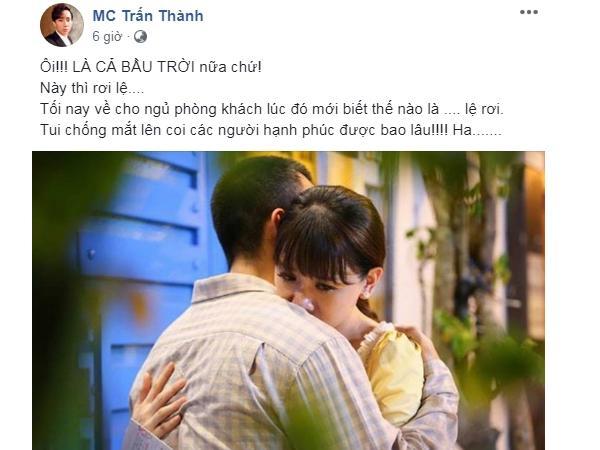 Đây là lời đáp trả của Hari Won sau khi bị Trấn Thành dọa cho ngủ ngoài phòng khách-6
