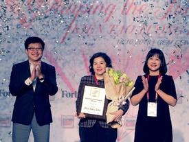 TGĐ Vinamilk được Forbes Việt Nam vinh danh 'Thành tựu trọn đời'